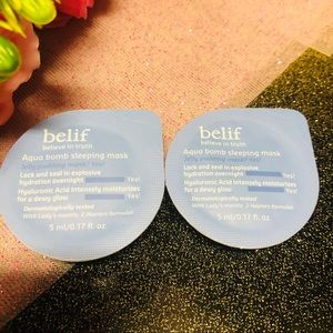 💦 Belif Aqua Bomb Sleeping Mask Sample sizes 💦
